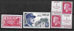FRANCE 1970  Lot De 3 Valeurs  N°1639,1642,1643  NEUFS - France