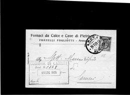 CG10 - Cartolina Postale Da Arona 15/7/1925 Per Cameri - Storia Postale
