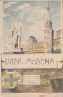RICORDO DI MODENA - GUIDA DI MODENA - PIANTA DELLA CITTA' - Modena