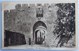 C. P. A. : ISRAEL : JERUSALEM, St Stephan's Gate - Israel