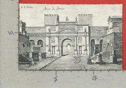 CARTOLINA NV ITALIA - E. F. ROMA - Arco Di Druso - Lelli Pio - 9 X 14 - Other Monuments & Buildings