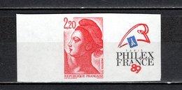FRANCE  N° 2461  NON DENTELE NEUF SANS CHARNIERE  COTE 50.00€    PHILEXFRANCE  LIBERTE - France