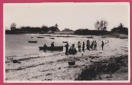 Ilha De Moçambique - Mozambique - Stamps Selos - Real Photo Postcard - Mozambico
