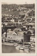 Bâteaux - Navigation Fluviale - Bâteau Vapeur Sur Le Rhin - Coblence Vue Du Grand-Hotel Coblenzer Hof - Otros