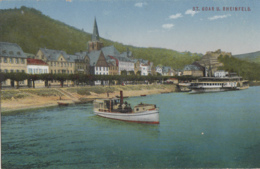 Bâteaux - Navigation Fluviale - Bâteau Vapeur Sur Le Rhin - St. Goar Und Rheinfels - Otros