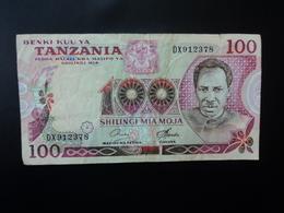 TANZANIE : 100 SHILINGI    ND 1978     P 8C       TTB - Tanzanie