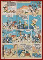 Le Lieutenant Burton Manque Un Combat. Bande Dessinée De 1962. Histoire Des Soldats De L'Union Aux Etats Unis. Funcken. - Vieux Papiers