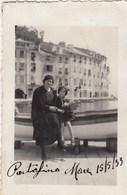 PORTOFINO -GENOVA  - FOTOGRAFIA PICCOLA -7 X 10 CM CIRCA- 1933- - Plaatsen