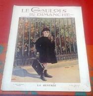 Le Gaulois Du Dimanche N°124 Octobre 1910   Jardin Du Carrousel Castelfidardo, Voyage En Perse Téhéran Enzeli Kaavin - Boeken, Tijdschriften, Stripverhalen