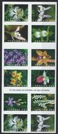 USA. Scott # ? MNH Pane Of 12 From Booklet. Wild Orchids  2020 - Orchids