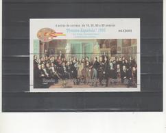 ESPAÑA-HB 3401 Pintura Española Esquivel  Sellos Nuevos Sin Fijasellos (según Foto) - Blocs & Feuillets