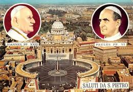 Cartolina Roma San Pietro Giovanni XXIII Paolo VI Vedute 1971 - Roma