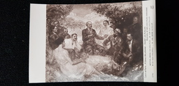 CP SALON De PARIS Peinture Tableau A DENIS VALVERANE DEVANT LES ALPILLES MISTRAL Frédéric Et DISCIPLES Femme Homme - Peintures & Tableaux