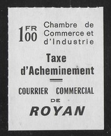 FRANCE 1974 - GREVES DES PTT - ROYAN - MAURY 27 - Huelga