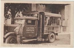 CPA  79 LA MOTHE SAINT HERAY LA LAITERIE EXPEDITION DES FROMAGES - La Mothe Saint Heray