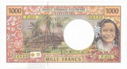 Polynésie Française / Tahiti - 1000 FCFP - F.055 / 2013 / Signatures Noyer/de Seze/La Cognata - Neuf / UNC - Papeete (Polinesia Francese 1914-1985)