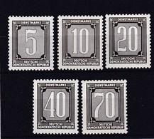 DDR, Dienst: Verwaltungspost A: Nr. 1-5** (T 15308) - Servizio
