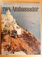 Old Tourist Brochure Twa Ambassador 1972.  RARE - 1950-Heden