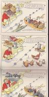 """3 Cartes """"total Des Importations De L'angleterre En 1937-1938 - Comics"""