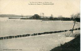 WADELINCOURT. Crue 1910; La Maison Du Passeur - Non Classés