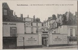 75 - Paris Historique - Hôtel De Nesmond - 59, Quai De La Tournelle - Fabrique D'Absinthe - état Neuf - Arrondissement: 05