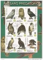Hiboux Owls Uilen Angola 2000  Oblitérés-Used-Gestempeld - Uilen