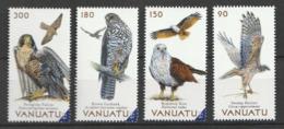 Magnificent Birds Of Vanuatu / Issued : 11.12.2019 - MNH - 4v - Vanuatu (1980-...)