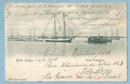 A133  CPA   Bilhete Postal   PORTO ALEGRE  (Brésil) Festa Navegantes   1904   ++++ - Porto Alegre