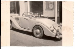 Automobile Anglaise à MONTE CARLO 1950 Sport Cabriolet - Photo -  Jolie Jeune Femme Fille - Automobiles