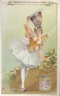 °°°  Chromo Liébig :  Danseuse ( Petit Défaut Papier)   °°°  REF  Fév. 20 - Liebig