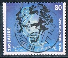 2020  250. Geburtstag  Ludwig Van Beethoven  (selbstklebend) - Gebraucht