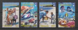 Colours In Bloom - 4v - MNH - Issued : 12.04.2012 - Vanuatu - Vanuatu (1980-...)