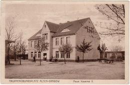 Altengrabow - Truppenübungsplatz, Neue Kaserne II , 1914 - Caserme