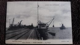 CPA COTE D IVOIRE PORT BOUET LE WARF CLICHE A KIKI - Costa De Marfil