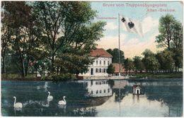 Gruss Vom Truppenübungsplatz Altengrabow - Commandantur, 1909 - Caserme