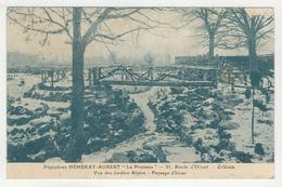 """45 - Orléans - Pépiniériste Hémeray-Aubert""""Le Ponceau"""" - Vue Des Jardins Alpins - Paysage D'Hiver - Orleans"""