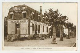 45 - Gien - Hôtel Du Berry Et Bourgogne - Gien