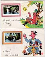 19. Pf. VARETZ. 2 Cartes - France