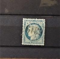 02 - 20 // France N° 60B  - Type II - Oblitération GC 6319 - Lyon Vaise  -  TB - Cote : 45 Euros - 1871-1875 Cérès