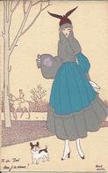 Au Bois . Serai-je En Avance ? ; Shall I Come Beforehand ? , Illustrateur : Maggy MONIER - Autres Illustrateurs