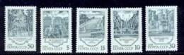 Russie (Russia Urss USSR) - 209 - N° 5590 / 5594 Fontaines De Petrodvoretz - 1923-1991 USSR