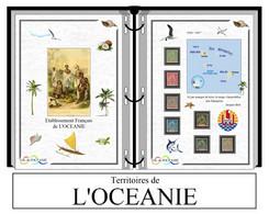 Albums De Timbres à Imprimer  Etablissements De L'OCEANIE - Oceanië (1892-1958)