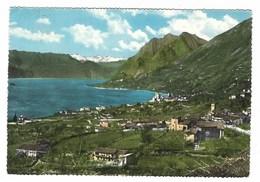 3917 - LAGO D' ISEO SALE MARASINO IN FONDO LA NEVE DELLA PRESOLANA BRESCIA 1962 - Italia