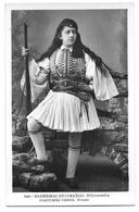 GRIECHENLAND  -  COSTUMES GRECS, EVZONE   ~ 1930 - Greece