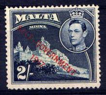 MALTE - 212(*) - GEORGE VI / CATHEDRALE DE MDINA - Malta (...-1964)