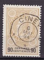 TE 24  :  TELEGRAPHIQUE CINEY - Telefoonzegels