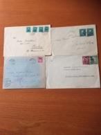 +++ Sammlung 4 Briefe Ceskoslovensko Carpatho Ukraine +++ - Briefmarken