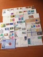 +++ Sammlung 23 Briefe Und Postkarten GB Islands +++ - Briefmarken