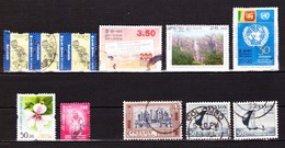 Lot Zegels Sri-Lanka (+ Ceylon):gestempeld / Used. - Sri Lanka (Ceylon) (1948-...)