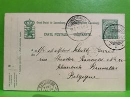 Entier Postaux, Oblitéré Kleinbettingen 1914 - Ganzsachen